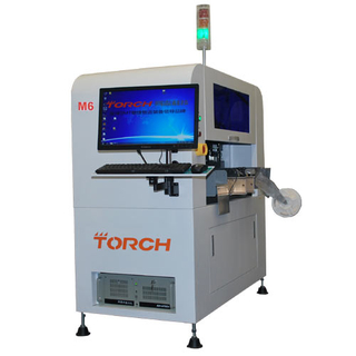 Six-Head Small High Speed Visual Pick & Place Machine M6